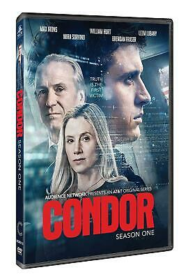 CONDOR 1 (2018): Thriller based on Days Of The - TV Season Series - NEW Rg1 DVD