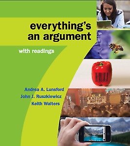 Everything's an Argument with Readings, 7th Edition EB00K PDF