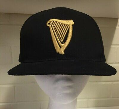 GUINNESS Beer Embroidered Baseball Cap Black Truckers Hat Clothing Accessories