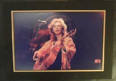 Emmylou Harris Concert Photo Original 18 X 12