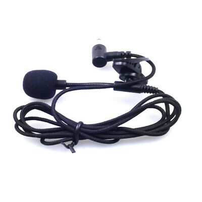 Clip-on Lapel Mini Lavalier Microphone 3.5mm Mic for Mobile Phone PC stretching