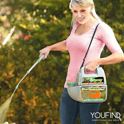 4.5L Electric Weed Sprayer Spray Battery Operated Farm Garden Pump PESTICIDES