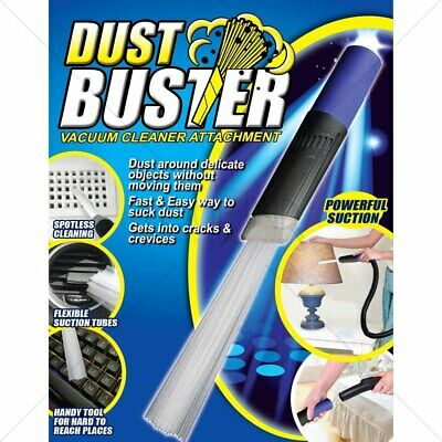 Dust Buster BUY 1 GET 1 FREE VACUUM ATTACHMENT AS SEEN ON TV UNIVERSAL ADAPTER