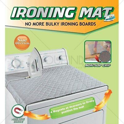 Iron Anywhere Ironing Mat Board Compact Nonslip Bottom Travel Portable Bed