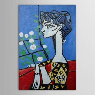 Hand Painted Large Modern Abstract Oil Painting Wall Art Home Decor Figure