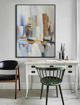 Hand Painted Abstract Canvas Oil Painting Wall Art Home Decor No frame
