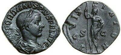 GORDIANUS III 238 - 244 AD. Æ Sestertius, 19.04g. RIC 299a Near Extremely Fine