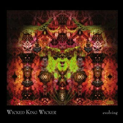 Wicked King Wicker - Evolving - Wicked King Wicker CD GKVG The Fast Free