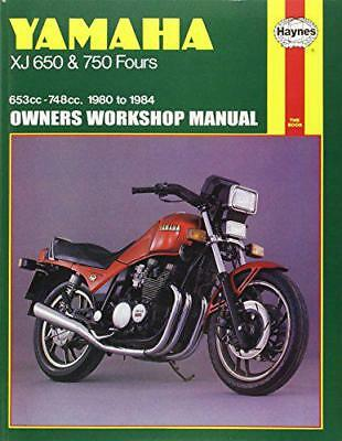 Yamaha XJ650 and 750 Fours 1980-84 Owner's Workshop Manual (Motorcycle Manuals)