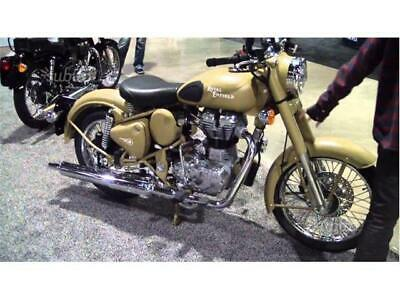 New custom royal enfield classic 500 desert storm