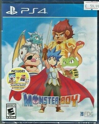 Monster Boy and the Cursed Kingdom - PlayStation 4- Ps4