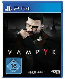 Vampyr - [Playstation 4] von Focus Home Interactive | Game | Zustand sehr gut