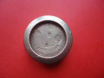 Antique   Russian  Imperial  Bronze Scale Weight,  STREKOPITOV.