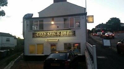 Indian Hot Food Takeaway Commercial Property & Residential 1 Bedroom Flat 4 Sale