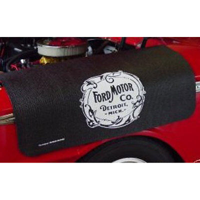 Fender Gripper FG2103 F-100 Fender Cover Black With Ford Heritage Logo