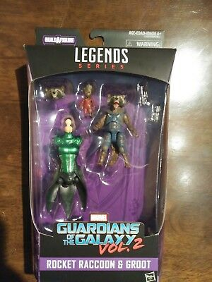 Marvel Guardians Of The Galaxy Vol 2 Legends Series Groot & Rocket Mantis Series