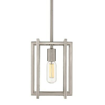 Golden Lighting Tribeca Mini Pendant, Pewter with Pewter Accents - 6070-M1LPW-PW