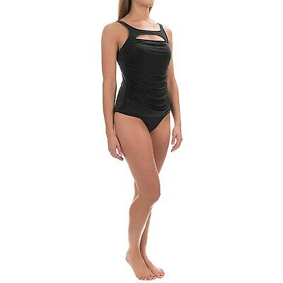 5564ebbf07 NEW MAGICSUIT MIRACLESUIT Two Piece TANKINI SWIMSUIT 16 46 Phoebe Cut Out  Black