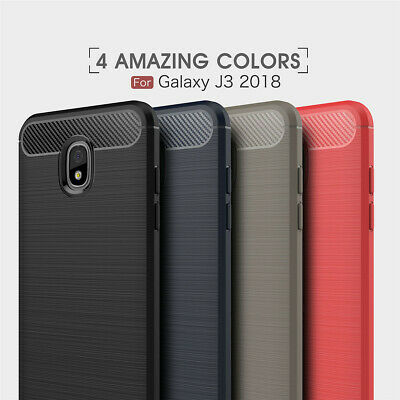Flexible TPU Case Rubber Shockproof Cover For Samsung Galaxy J3,J7,J7Duo,J8 2018