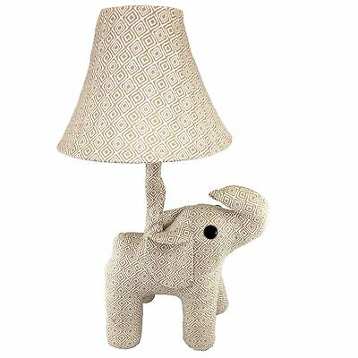 Fifth + Nest Kids Nursery Lamp - Plush Animal Table Top Lamps For Bedrooms - Cut