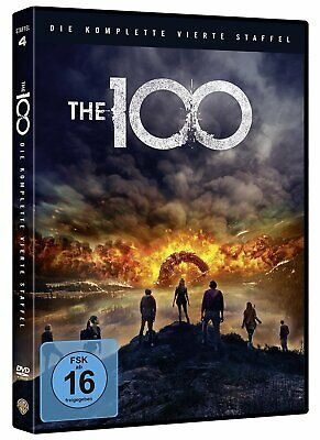 The 100 - Die Komplette Staffel 4 - Dvd-Box - 3 Discs - Neu&ovp
