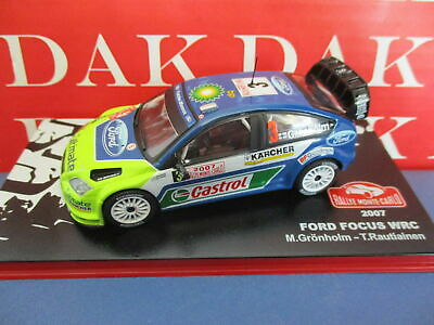Die cast 1/43 Modellino Auto Ford Focus WRC Rally Monte Carlo 2007 M.Gronholm