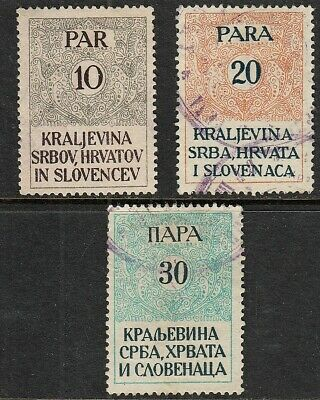 Early Bosnia Herzegovina Revenue Stamps