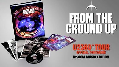 U2 - FROM THE GROUND UP / FAN CLUB - LIVRE + CD COLLECTOR EDGE  360 TOUR new