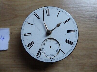Quality Antique Gents Fusee  Pocket Watch Movement