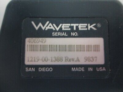 Ideal Wavetek 1219-00-1388 Rev E Calibration Module