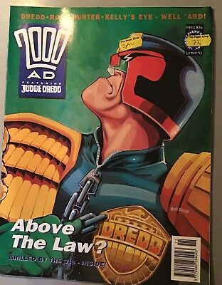 2000AD weekly Sci-fi comic / Judge Dredd. 826, March 1993