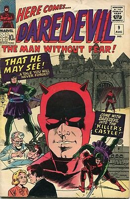 Daredevil # 9 - 1St Klaus Kruger - Wally Wood Art And Cover