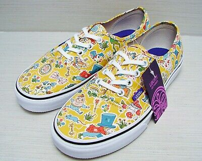 118c1f4393 VANS Authentic (Liberty Wonderland) True White VN-0ZUKFHI Women s Size  6
