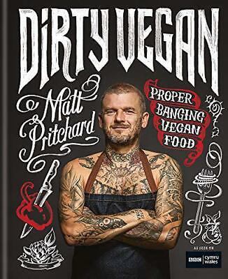 Dirty Vegan by One Tribe TV Limited,Pritchard, Matt, NEW Book, (Hardcover) FREE
