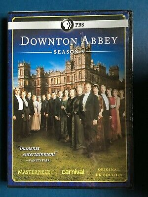 DOWNTON ABBEY Season 3 (DVD, 2013, 3-Disc Set)  NEW/sealed CONDITION*