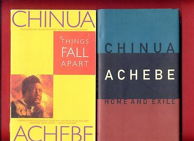 """2 Chinua Achebe books: """"Things Fall Apart"""" + """"Home and Exile"""" - Free Shipping!"""