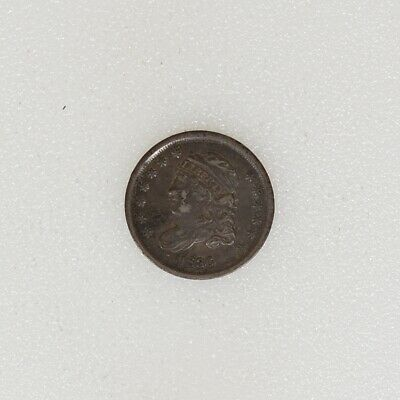 1836 VF COND Capped Bust Half Dime Nice Strike & Color - I-16596 F