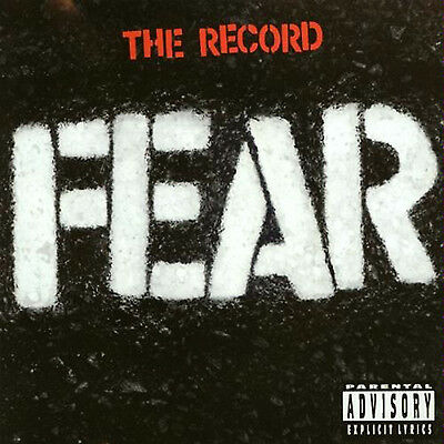 Fear - The Record - NEW SEALED 180g LP - Punk Classic on VINYL