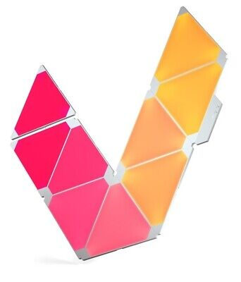 Nanoleaf Light Panels Smarter Kit Apps for iOS & Android  Colour changing (9Pk)