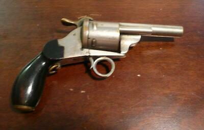 Antique Novelty Pistol Lady's Sewing Kit Rare