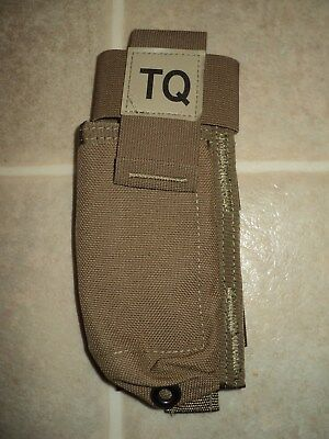 Usmc Issue Coyote Tq Pouch Cat Tourniquet Pouch W/nsn Resource Center Cif Sale!!