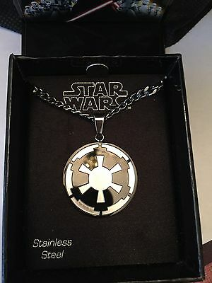 STAR WARS GLATIC EMPIRE Stainless Steel PENDANT Necklace