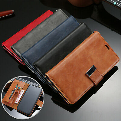 For iPhone 6s Plus 7 8 Plus Case Luxury Folio Wallet Card Pocket Leather Cover