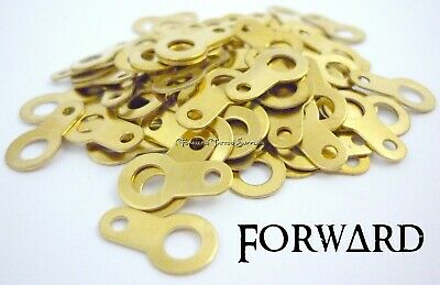 100 Brass Solder Lugs #8 Make your own Coils Tattoo Machine Coil Parts Forward