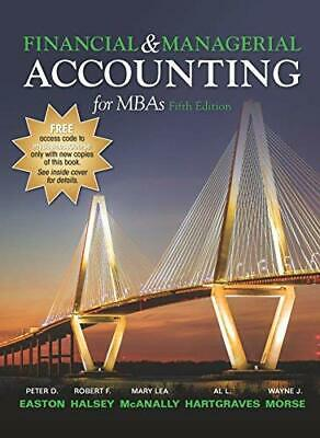 Financial & Managerial Accounting for MBAs 5th Edition by Peter D. Easton
