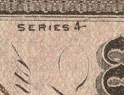 1864 $20 Series 4 Over 1 Confederate States Currency Civil War Note Money T-67