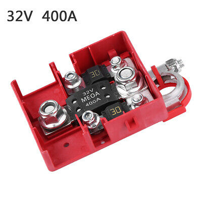 32V 400A Car Quick Release Fused Battery Distribution Terminals Clamps Connector