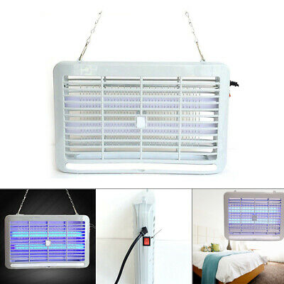 Electric UV Insect Killer Mosquito Pest Fly Bug Zapper Catcher Trap LED Light 2W