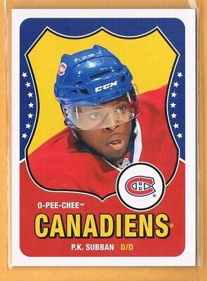 2010-11 OPC P.K. Subban Rookie #504 Canadiens RC Retro O-Pee-Chee SP