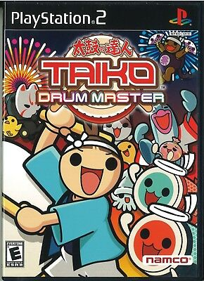 Taiko Drum Master (Sony PlayStation 2, 2004) Namco.  Without Drum Kit